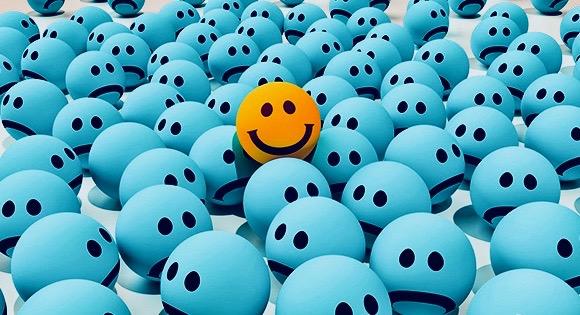 Kleurt jouw maandag blauw of oranje?